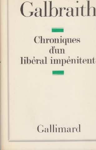 Chroniques d'un libéral impénitent