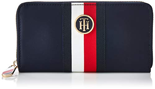 Tommy Hilfiger AW0AW07437  Damen Geldbörse Poppy Large Zip, 19 x 2 x 10 cm -
