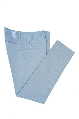 Vincent Trade - Pantalone Uomo, Pantalone tasca america e tasche a filetto sul retro vestibilità slim Polvere
