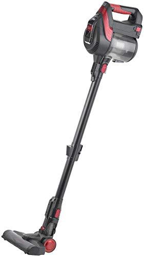 Sichler Haushaltsgeräte Akkusauger: 2in1-Akku-Zyklon-Staubsauger mit elektrischer Bürste, 120 Watt, 21,9 V (Zyklonsauger)