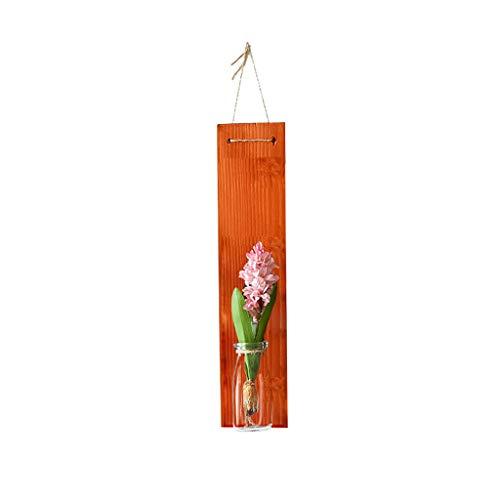 Hzwj Blumenständer an der Wand befestigter, mehrschichtiger Topfständer aus grünem Loll-Aufhänger (größe : B)