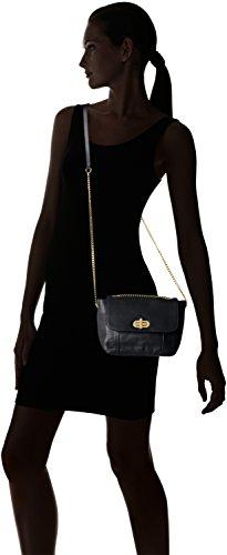 Petite Mendigote Miyake, Sac porté épaule Noir (Black)