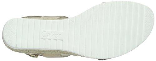 Gabor Shoes 45.590 Sandali da Donna Multicolore (37 Schwarz/Space)