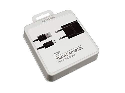 Samsung Micro USB Netzteil 10 Watt EU schwarz Original inkl. Ladekabel Galaxy Tab S2 9.7 Wi-Fi (SM-T810) - Samsung Galaxy Für Tab Stromkabel