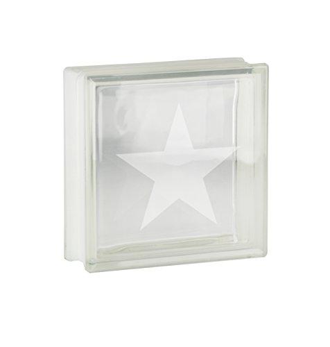1pieza cristal bloques ladrillos de cristal claro vista transparente