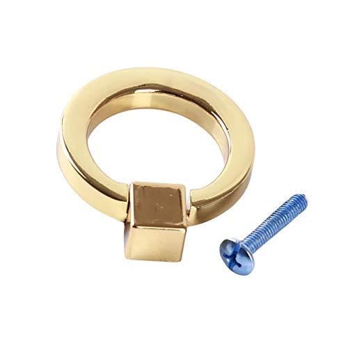 Möbel Schublade Zieht (LLZIYAN Schublade Ring Griff Kabinett Knöpfe Möbel Türgriff Ring Runde Zieht Griff Hause Dekorative Accessoires, 2#)