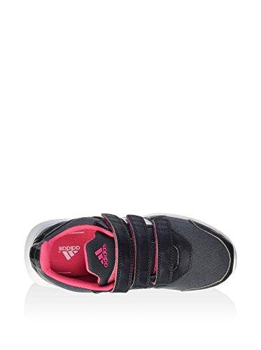 adidas , Chaussures d'athlétisme pour garçon noir Gris
