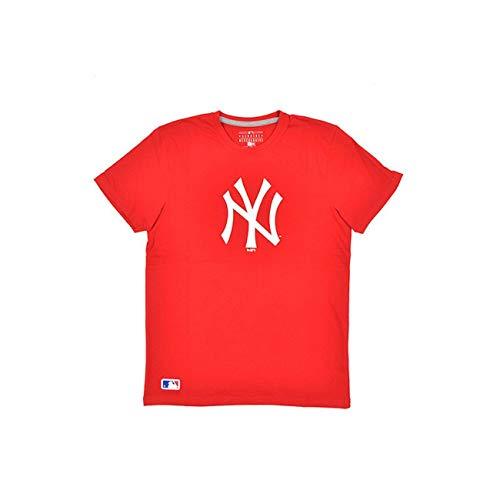 New Era - MLB New York Yankees Essential T-Shirt - Rot Größe M, Farbe Rot -