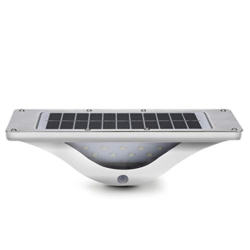 Oval Flutlicht (Solar Light Human Body Induktions Wand Lampe 24 * 10,8 cm LED Outdoor Bright Solar Garden Light Wand Lampe Aluminium-Legierung Laterne Oval Flutlicht)