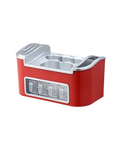 Multifunzione da cucina mensola rack di stoccaggio del cucchiaio delle bacchette rack salsa Bottiglia bagagli (7 colori facoltativi) ( colore : 6# )