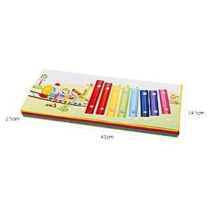 Train mod¨¨le Early Education Enfants Toy Piano (Randon couleur)