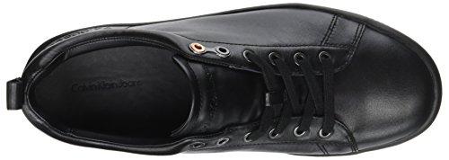 Calvin Klein Gaetan Calf, Sneaker Homme Noir (noir)