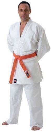 New Cimac Giko Judo vestiti Playwell-Costume per travestimento da cintura inclusa, colore: bianco, 120 x 190 cm