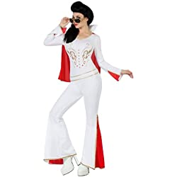 Atosa - Disfraz Elvis para mujer (M-L)