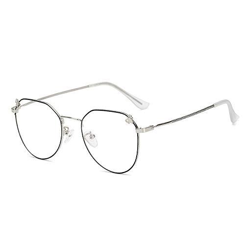 ZMK-720 Sonnenbrillen Myopie Brillengestell Blau Strahlung Brille Bogen Brillengestell Myopie Brillengestell Persönlichkeit Flut Männer Und Frauen @ A