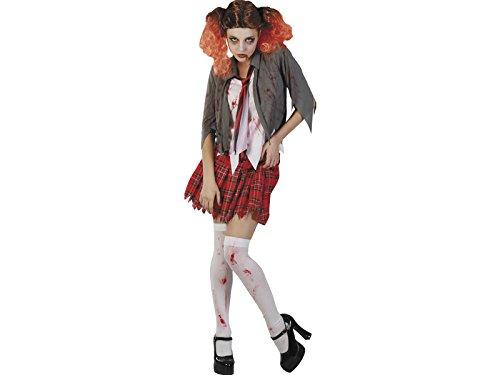 Grausame Kostüm - DISONIL Kostüm Grausame Schülerin Frau Größe L