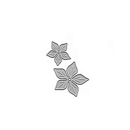 formen Schablone DIY Scrapbooking Präge Album Papier Karte Handwerk Gestanzte Schneidemaschine Handwerk Stirbt (Blume) ()