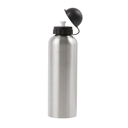 M-WAVE Trinkflasche SBO 750, silver, 750 ml