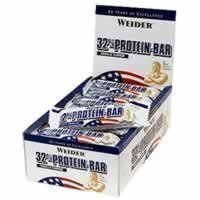 Weider 32% Protein Bar Strawberry - 12 x 60g