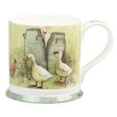 alex-clark-1-piece-mellow-yellow-fine-bone-china-milk-churns-mug-multi-colour