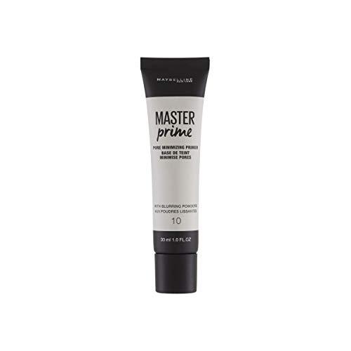 Maybelline Master Prime Nr. 10 Poreminimizing, Make-up-Primer, verkleinert die Poren optisch, bereitet die Haut optimal auf das Make-up vor, 30 ml