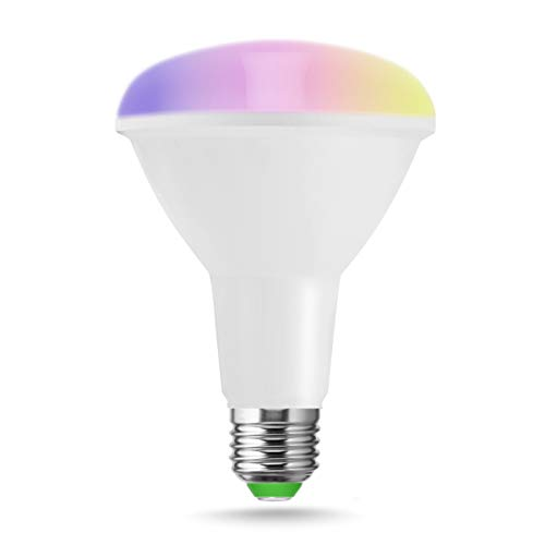 LOHAS ® 10W E27 wifi multi color Smart lampade a LED, Lavora...