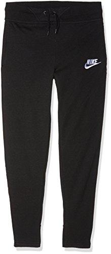Nike Mädchen Sportswear Club Hose, Schwarz (Black/White), L