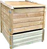 Composteur 650 litres en pin traité