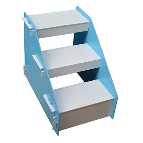 Klappleiter Tragbare Leiter, Pet Ladder Home Balkon Leiter Holz Demontage Leiter Größe 40 * 60 *...