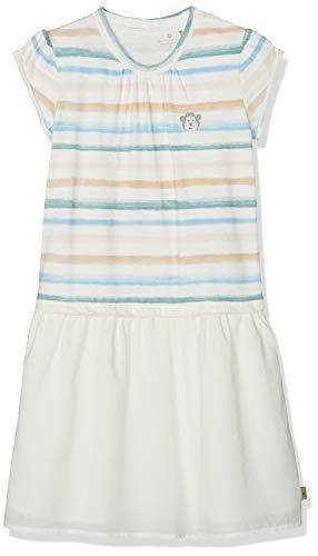 Bellybutton mother nature & me Mädchen 1/8 Arm Kleid, Mehrfarbig (Multicolour|Multicolored 0006), (Herstellergröße: 104) -