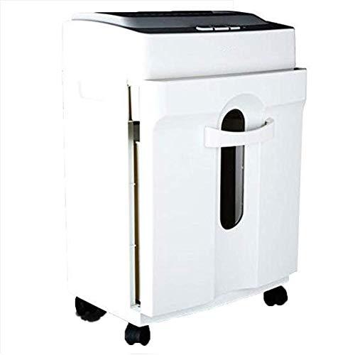 Libina 9920 Stumm Schredder Elektrische Büro Hause Kleine A4 Streifen Körnige Aussehen mit Offenen Brief Messer Ordner Gerade Schneidemaschine,White