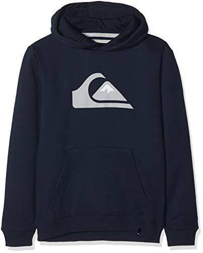Quiksilver Jungen Kapuzenpullover Big Logo, Blau (Navy Blazer BYJ0), 12 Jahre (Herstellergröße: M/12)