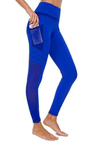se Sport leggings Tights, U3916 - Blau (Tech Mesh), L (DE40-42) ()