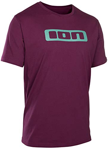 ION Logo Tee SS Men pink isover Größe EU 54 | XL 2019 T-Shirt