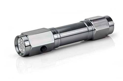 LED Sicherheitstaschenlampe mit Nothammer und Gurtschneider