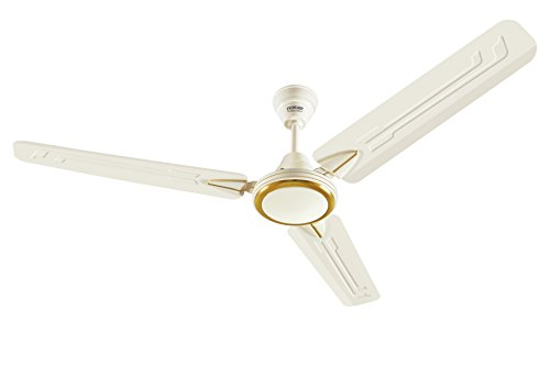 Eveready Super Fab M High Speed 1200mm 3 Blades Ceiling Fan (Cream)