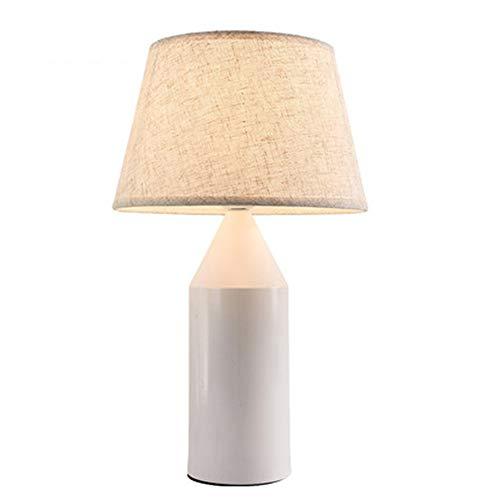 Modernes Tischlampen, Nordische Gewebe-Lampenschirm-Flaschen-Form Tischleuchte, Kreative Warme Romantische Nachttischlampe, Personifizierte Dekoration Schreibtischlampe,B