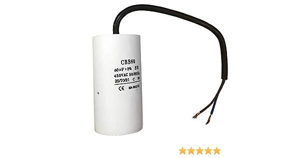 Kondensator 450v Ac 60µf Cbb60 B Baumarkt