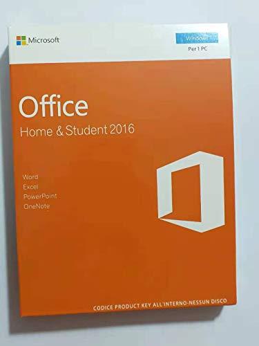 Office 2016 - Home & Student (Windows) [1 dispositivo / versione perpetua]