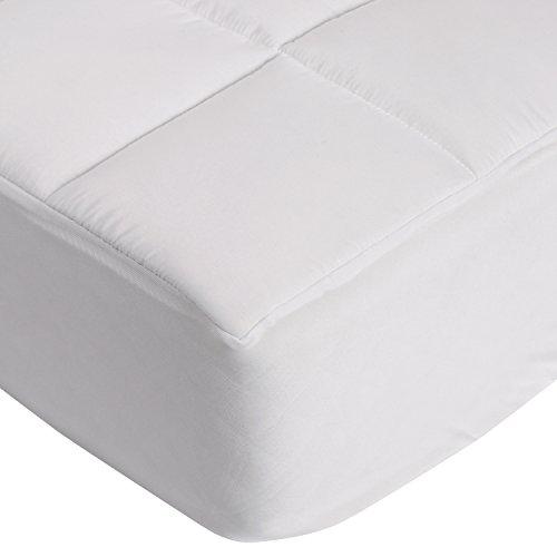 sinnlein® Mikrofaser-Unterbett für besonders guten Schlafkomfort und Entspannung, Matratzenauflage / Matratzenschoner mit Spannumrandung, erhältlich in verschiedenen Größen, Soft Touch, für Boxspring- und Wasserbetten geeignet, ideal auch für Allergiker (180 x 200 cm)