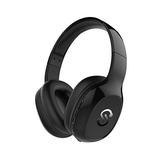 Casque Bluetooth 4.1 SoundPEATS A2 Casque Over-Ear avec Microphone, Écouteur Stéréo sans Fil, 20h Ultra-Longue Autonomie, Réduction du Bruit avec Basse Puissante pour PC/TV/iOS/Android