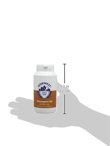 Dorwest Herbs Wheatgerm Oil Capsules for Dogs and Cats 6