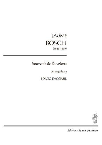 Prime de eBook gratis Souvenir de Barcelona: Per a guitarra (Catalan Edition) PDF DJVU FB2