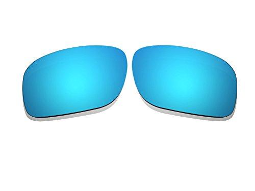 Ice Blau Spiegel Polarisierte Ersatz Gläser für Oakley Holbrook Sonnenbrille