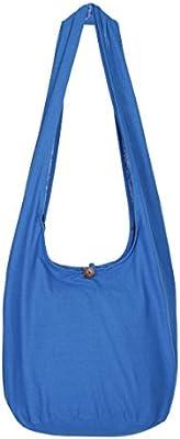 Tailandés Hippie bolsa-100% algodón Boho Gypsy Sling Bolsa de hombro de viaje bolso de mano, diseño de flores