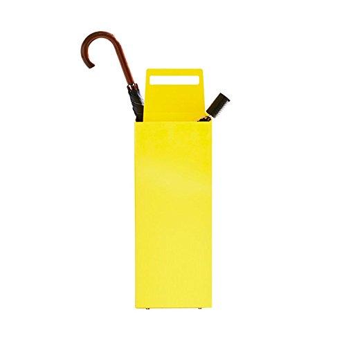 Stockage debout Porte-parapluie/seau de rangement pour parapluie/porte-parapluie multifonction pour le ménage (Couleur : NOIR)