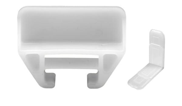 Prime-Line tiroir Guide côté selles blanc