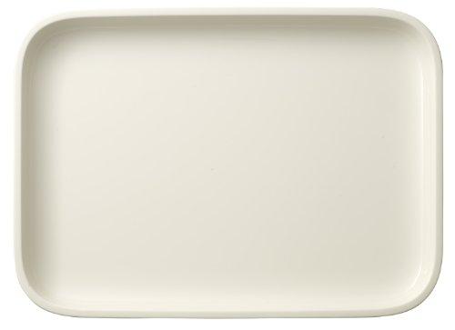 Villeroy & Boch Clever Cooking Plat de service rectangulaire, 36 x 26 cm, Porcelaine Premium, Blanc