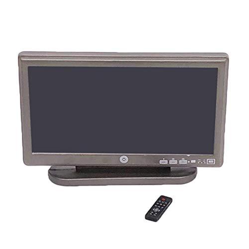 Vosarea Dollhouse Möbel Mini-Mini-Breitbild-Fernseher vortäuschen Spielen Prop - Screen-möbel