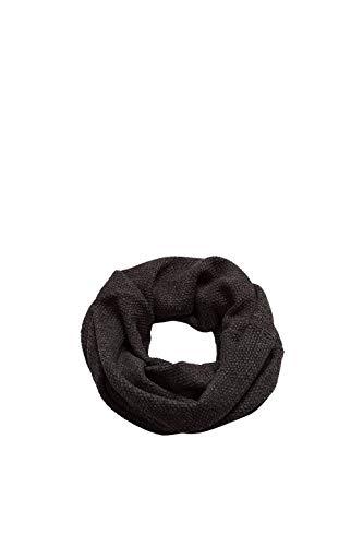 ESPRIT Accessoires Herren Schal 098EA2Q005, Schwarz (Black 001), One Size (Herstellergröße: 1SIZE)